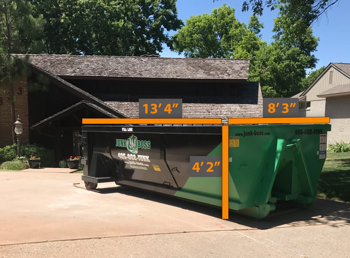 10 Yard Dumpster - ideal for home improvements