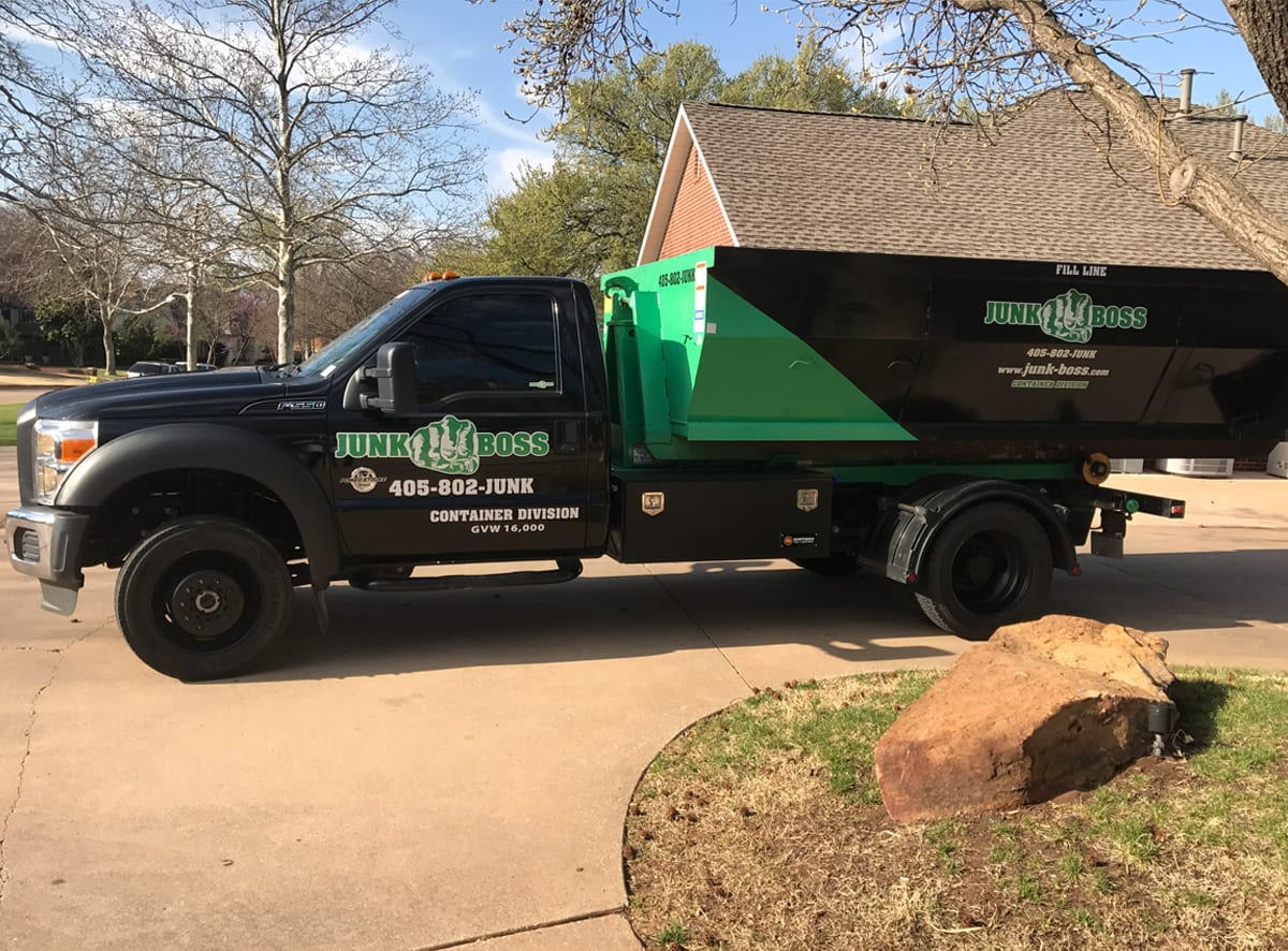 10 Yard Dumpster - deliver to driveway
