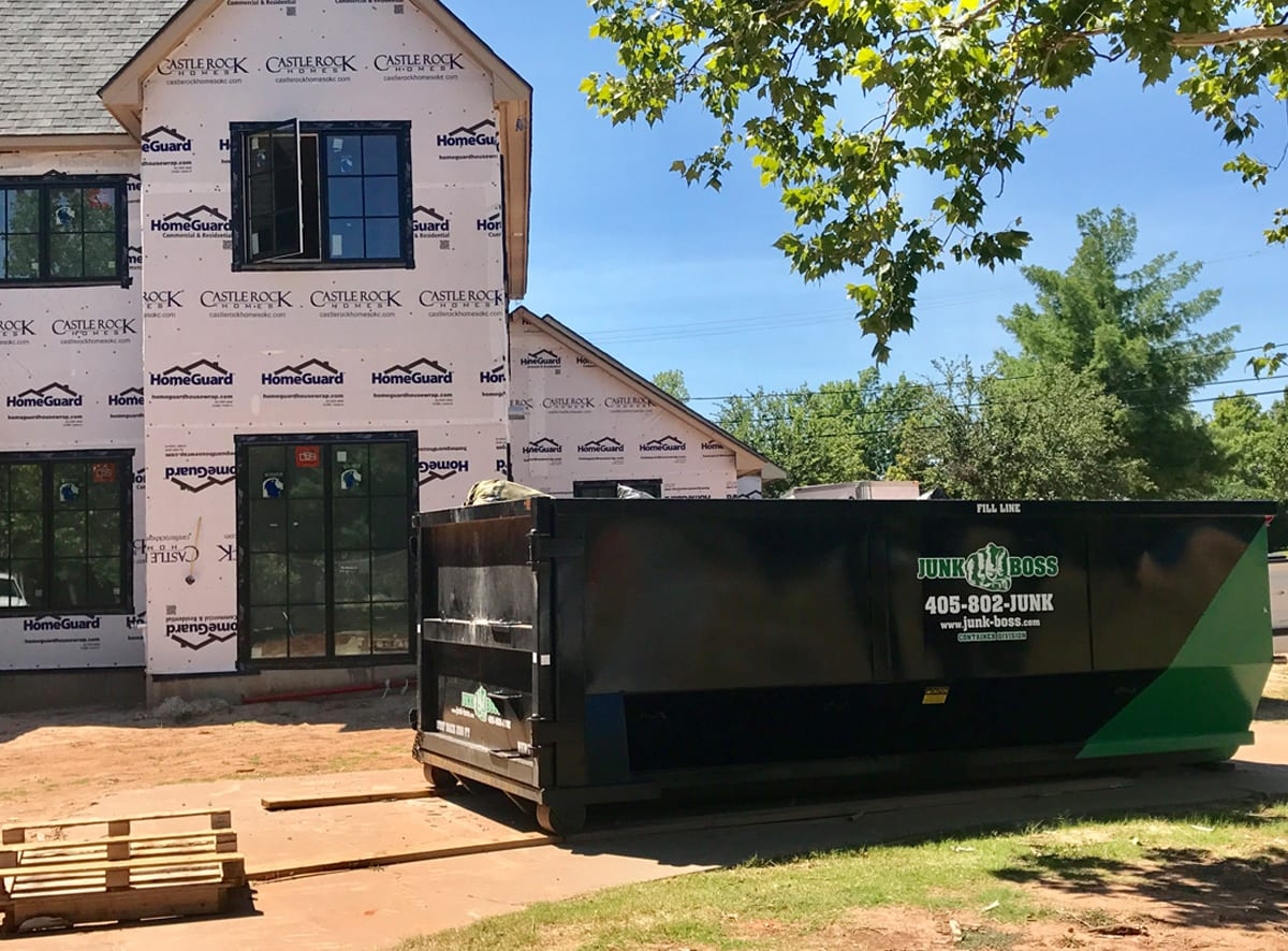 Same Day Dumpster Rental delivered to your home