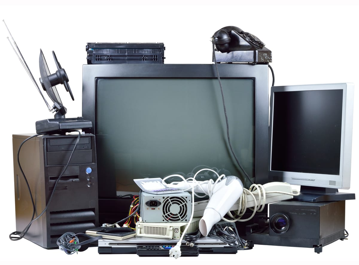 Electronic waste removal services