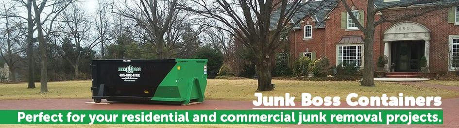 Junk Boss Dumpster Rentals