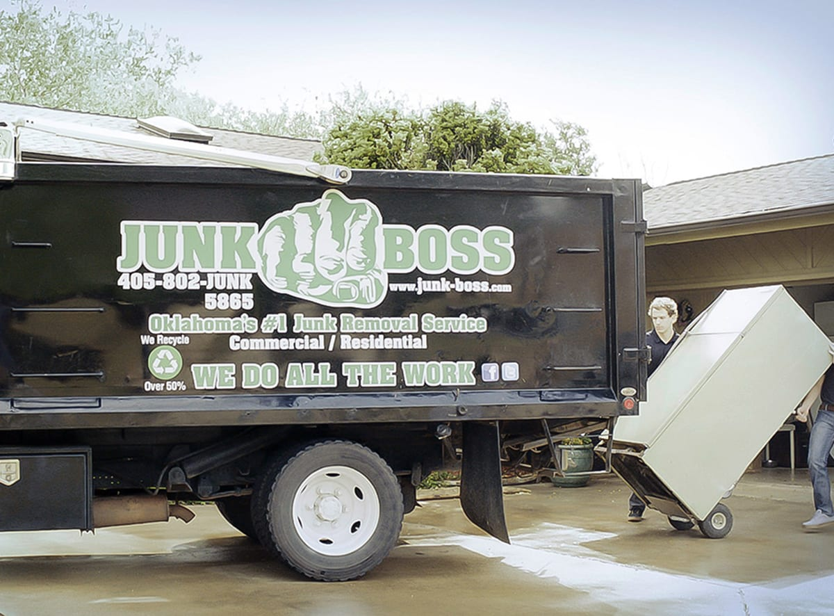 Kitchen Appliance removal by Junk Boss