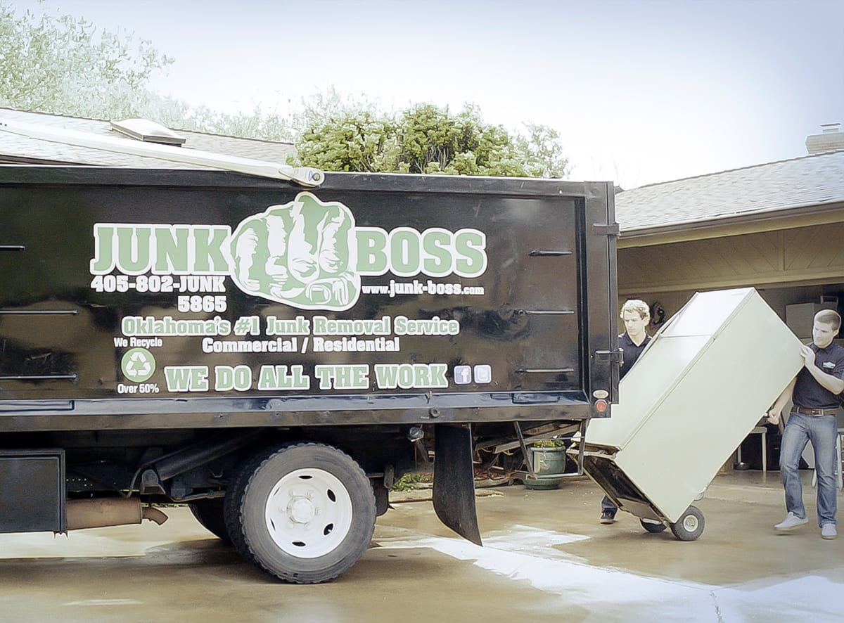 Junk Boss remove junk on moving day
