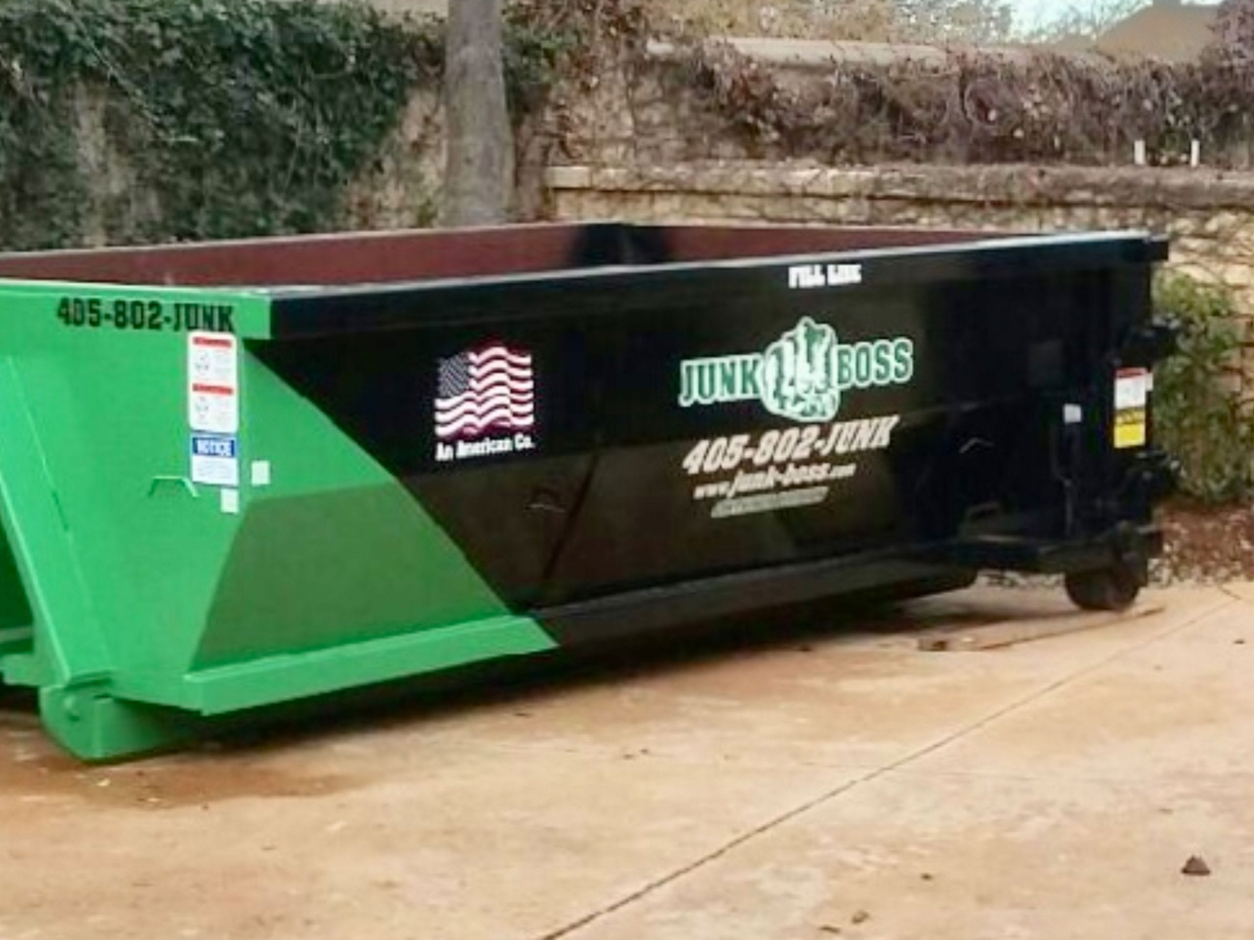 Roll off dumpster Services