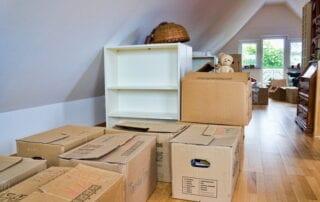 attic junk cleanout