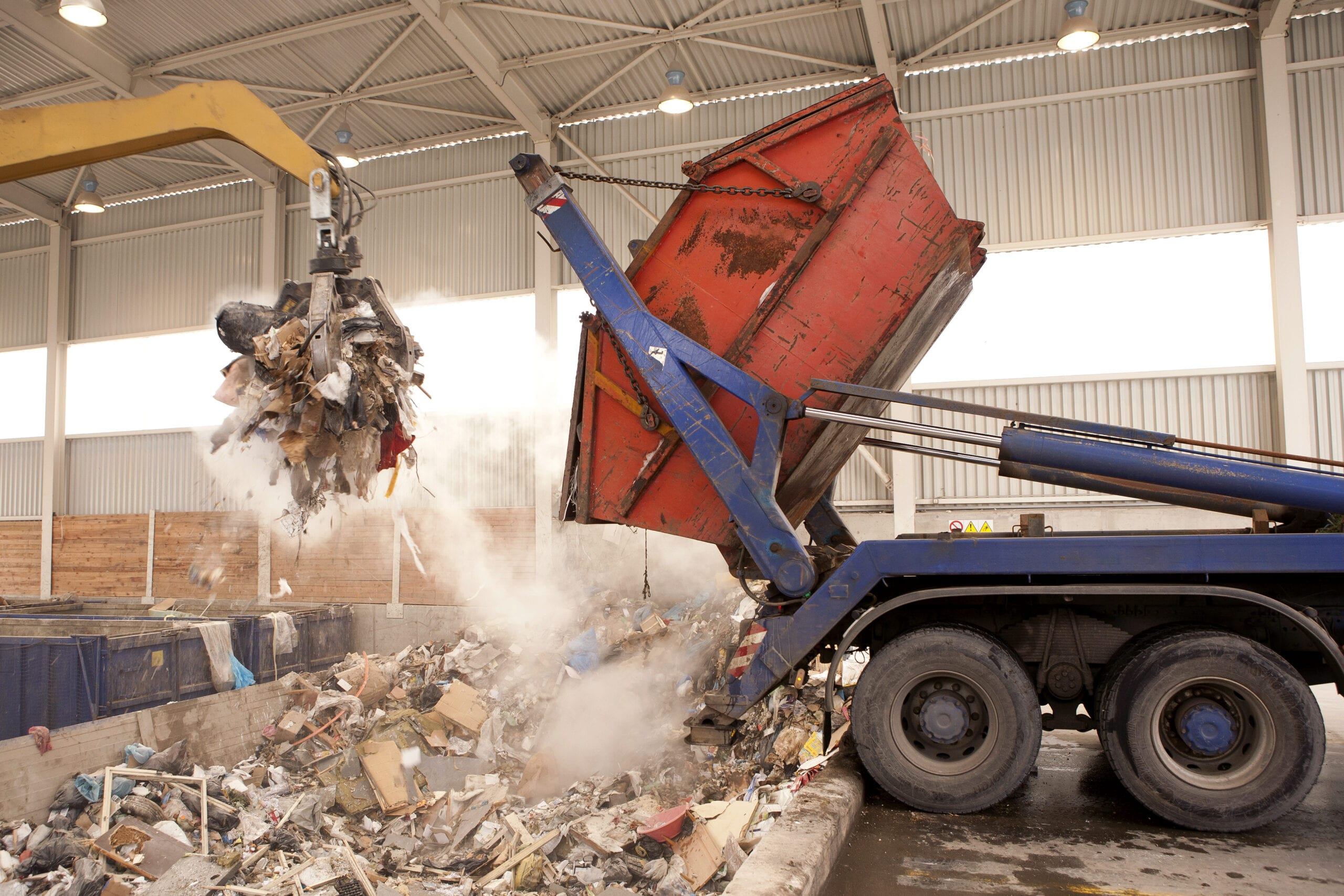 Disposing Of Construction Waste